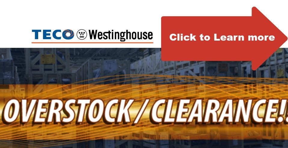 Teco Westinghouse Clearance