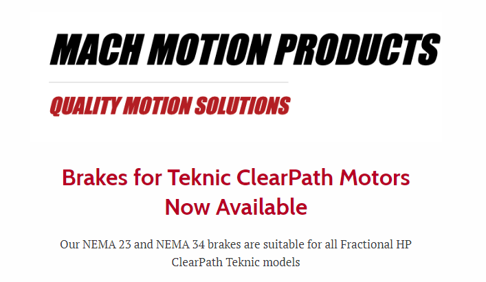 Mach motion New Product Line