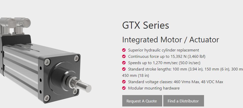 Exlar GTX Series